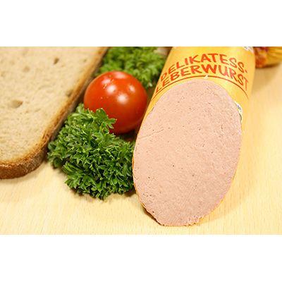 Delikatess Leberwurst - Paté de hígado