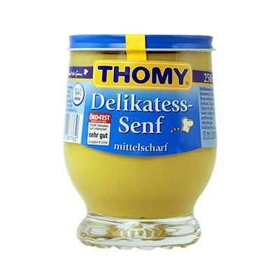 Delikatess Senf - Mostaza semifuerte