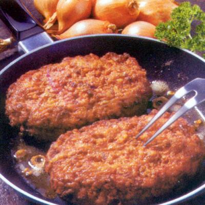 Frikadellen - Hamburguesa asada