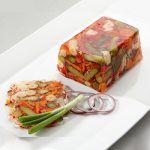 Gemüsesülze - Gelatina de verduras