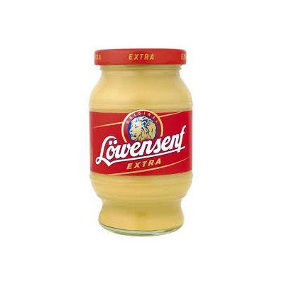 Löwensenf Extra - Mostaza extra fuerte