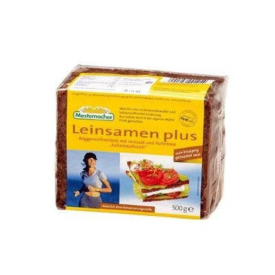 Leinsamen Brot - Pan con linaza