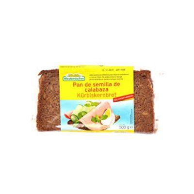 Pan de semilla de calabaza