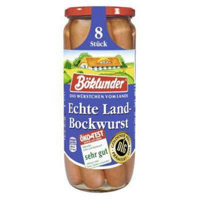 Salchicha Bockwurst 8 piezas