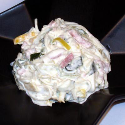 Schinken Lauch Salat