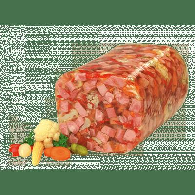 Schinkensülze - Jamón con verduras