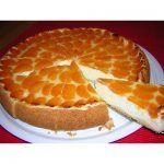Tarta de queso con mandarinas