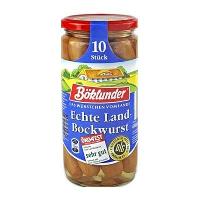 Salchicha Bockwurst 10 piezas