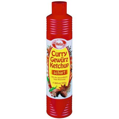 Curry ketchup picante