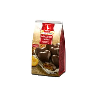 Lebkuchen Herzen 150 g.