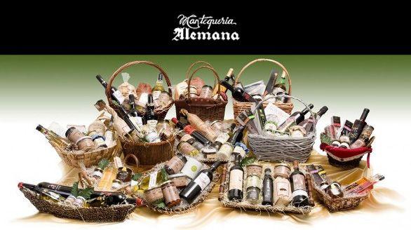 Mantequería Alemana cestas y regalos
