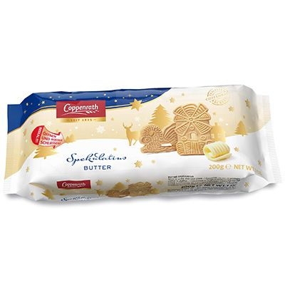 Butter Spekulatius – Galletas de mantequilla